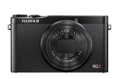 Pocket-Friendly Cameras - The Fujifilm XQ2 Takes Quality Images From a Small Package