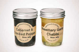 This Savory and Sweet Vermont Crafted Wine Jelly is From Potlicker Kitchen