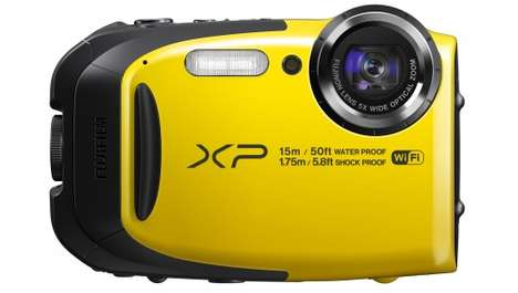 Weatherproof Cameras - The Fujifilm FinePix XP80 is Shockproof, Freezeproof and Dustproof