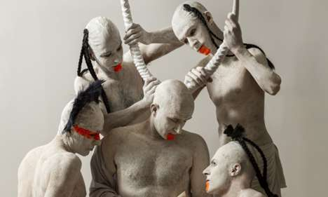 Artificial Mother Performances - The Messiah Complex 5.0 Explores Concepts of Religious Evolution