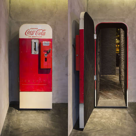 Hidden Speakeasy Bars - Flask is a Lounge Found Behind a Vintage Coke Vending Machine