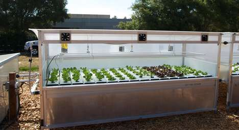 Smart Modular Microfarms - These Connected Greenhouse Create Rooftop Gardens in Urban Areas