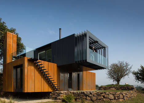 Shipping Container Abodes - A Residence in Northern Ireland was Constructed with Unusual Materials