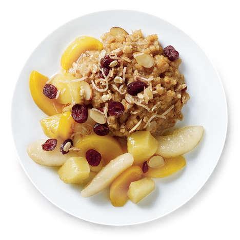 Frozen Fruity Oatmeals - Luvo's Steel-Cut Oatmeal Breakfast is Sold Frozen, Not Dry