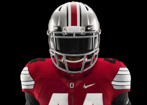 Elite College Football Uniforms - These Nike College Football Uniforms Blend Style and Substance