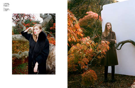 Captivating Autumn Editorials - The Ones 2 Watch Indian Summer Shoot is Effortlessly Elegant