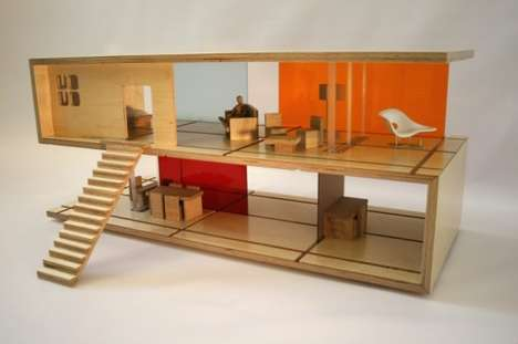 50 Contemporary Dollhouse Toys - From Collapsible Dollhouse Chairs to Modernist Miniature Residences