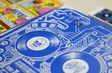 Interactive Record Covers - DJ QBert's Record Cover Plays Songs When Prompted by Touch