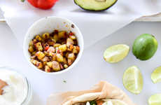 Chorizo Breakfast Tacos - This Savory Breakfast Recipe Includes Potato Hash and a Fried Egg