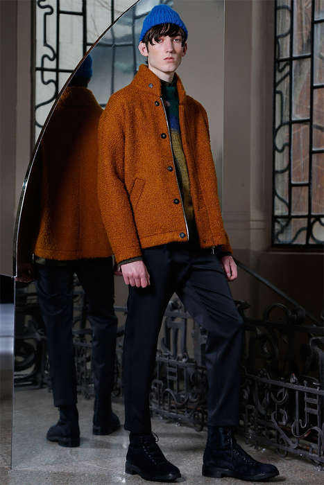 Cozy Hipster Catalogs - The Latest Iceberg Menswear Collection Focuses Heavily on Knits