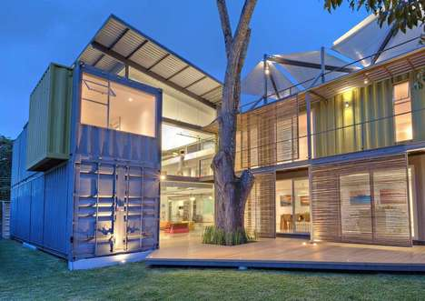 Shipping Container Homes - Costa Rica's Casa Incubo by Maria Jose Trejos is Bright and Spacious