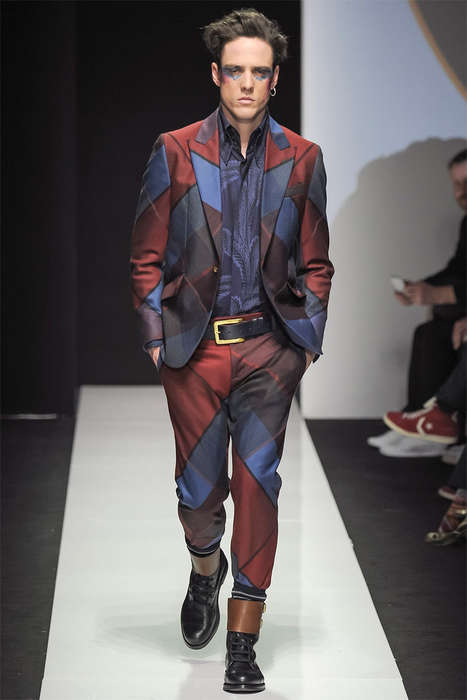Refined Glam Rock Apparel - The Latest Vivienne Westwood Menswear Collection is Elegantly Edgy