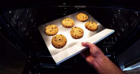 Safe Touch Bakeware - Bakebare's Kitchen Bakeware Can Be Removed from the Oven Without a Mitt