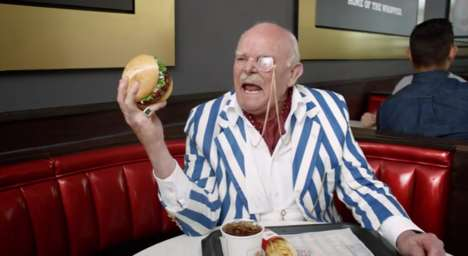 Wealthy Diner Ads - This Burger King Commercial Has Two Old Rich Men Eat Lamb Burgers