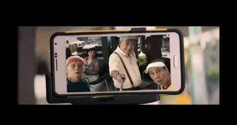 Senior Selfie Campaigns - The McDonald's Senior Citizen Edition Commercial Proves Aging is Fun