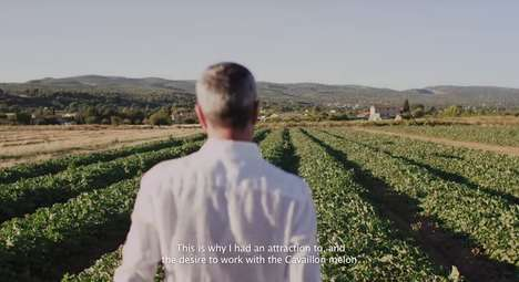 Agricultural Alcohol Campaigns - The Grey Goose Le Melon Ad Highlights Brand Heritage and History