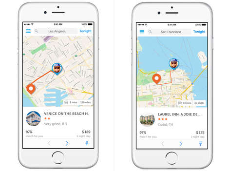 Spontaneous Travel Apps - The Booking Now App Provides a Personalized, Real-Time Experience