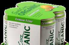 Low Sodium Sodas - Santa Cruz Organic Creates Healthy Sparkling Beverages