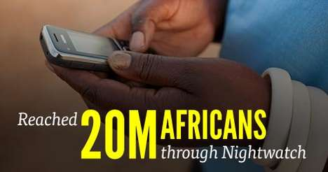 Mobile-Mining Malaria Strategies - Malaria No More's NightWatch Malaria Program Uses Leaders' Phones