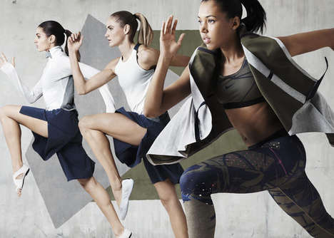 Modular Athletic Apparel - The NikeLab x JFS Collection Brings a New Vision to Women's Training