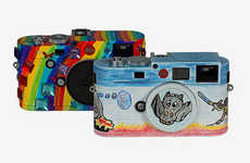 Child-Designed Cameras - Two One-of-a-Kind Leica M-Series Models are Auctioned for Charity