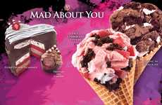 Spicy Strawberry Desserts - Cold Stone Creamery's Valentines Day Treats Mix Chocolate & Spice
