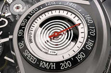 Speedometer-Embedded Watches