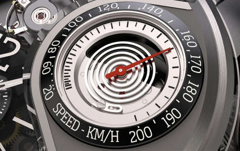 Speedometer-Embedded Watches - The Genie 03 Mechanical Watch Strays Away from Traditional Timepieces