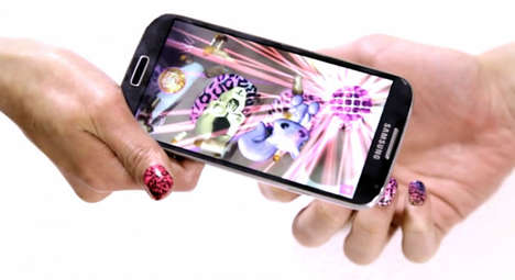 Augmented Nail Art - Metaverse Makeovers' Cool Nail Art is Enhanced with Augmented Reality