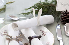 Whimsical Napkin Rings - Anima Causa Designs Adorable Accessories for the Dining Experience