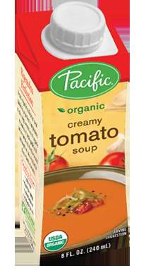 Single Serve Soups - The Packaging for Pacific Foods's Organic Creamy Tomato Soup is Easy to Open