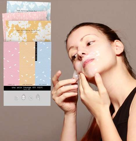 Compact Face Masks - This Sheet Mask Set Includes Cures to Brighten, Hydrate and Lift the Skin