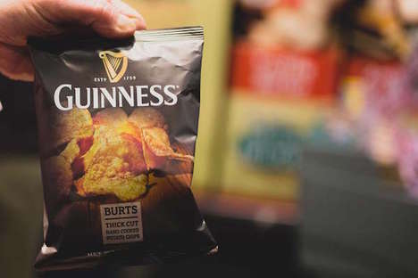 Beer-Flavored Chips - Burts' Beer Potato Chips Are Flavored Like a Guinness Stout