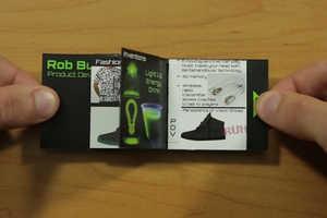 Rob Burke's Small Portfolio is No Bigger Than a Business Card