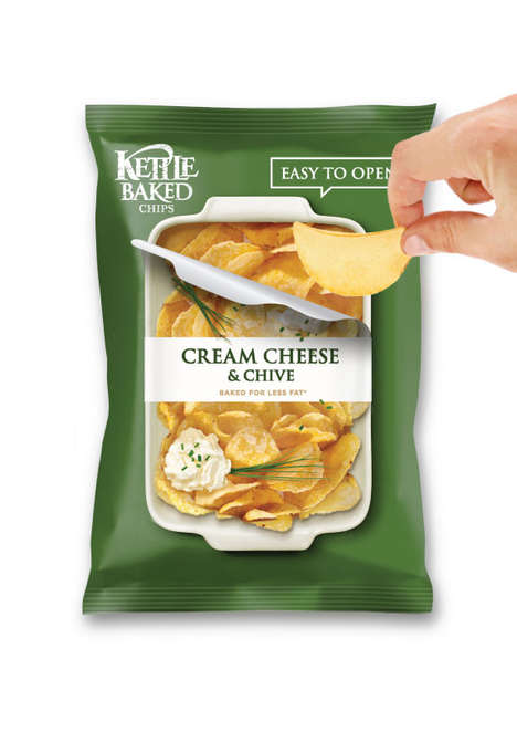Easy-Open Chip Bags - Junpyo Kim's Design Makes It Easy to Open a Bag of Chips