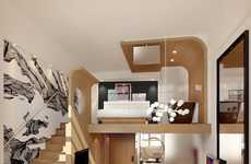 Mezzanine Hotel Rooms Demonstrate Creative Shifts in Luxury Accommodation