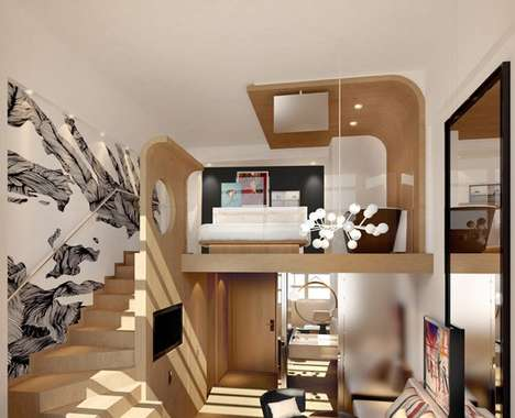 Deluxe Dorm-Style Hotels