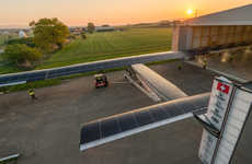 The Solar Impulse 2 Will Fly Around the World in Five Months Without Any Fuel