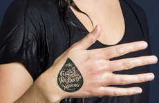Charitable Temporary Tattoos