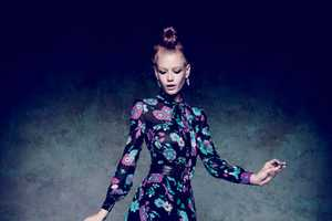 Hollie-May Saker Stars in Marie Claire Italia's February Issue