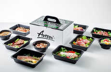 Dietary Food Boxes - Aveppi's Catering Box Supports Active Lifestyles