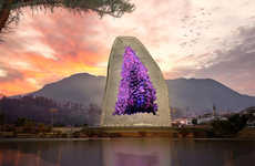 Amethyst Hotel is a Mountainous Manifestation of a Precious Stone