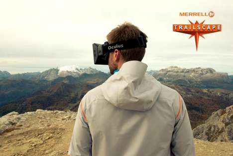 Nature Walk Simulators - Merrell's Virtual Reality Experience Highlights the Beauty of Nature