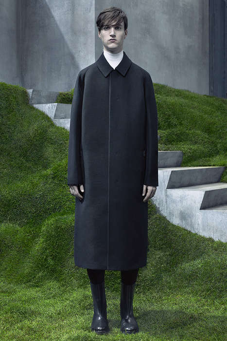 Luxuriously Uniformed Streetwear - This Balenciaga Menswear Collection Blends Style with Comfort