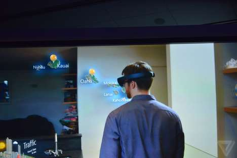 Augmented Reality Holograms - Microsoft's Windows Holographic Brings New Dimension to Virtual Worlds