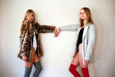 Sibling Dress-Up Editorials - Lindsey L33 Took Photos of Sisters Playing Dress-Up for C-Heads