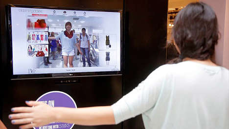 Interactive Dressing Rooms - Bloomingdale's Introduces Smart Fitting Rooms with iPad Devices