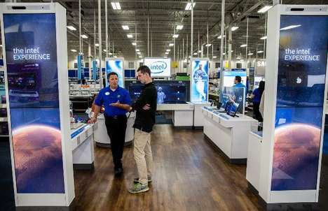 Experiential Tech Zones - Best Buy Integrates 'The Intel Experience' in Stores Across the Nation