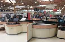 High-Tech Store Checkouts - Tesco Introduces State-of-the-Art Machines to Cut Down Queues