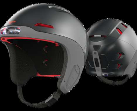 High-Tech Ski Helmets